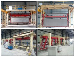 AAC Bricks Making Production Plant