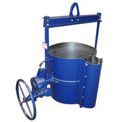 Geared Tilting Foundry Ladle