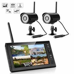 Wireless CCTV Camera System, Usage: Outdoor Use