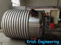 Outside Heating Coil Pressure Vessel