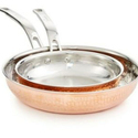 Stainless Steel Hammered Serving Handi