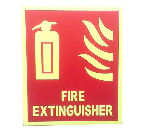 Fire Safety Sign Fire Extinguisher Symbol Manufacturer From Hyderabad