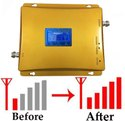 Dual Band 2g 4g Mobile Signal Booster Repeater Fully Kit - Coverage 1800 Sq. Feet