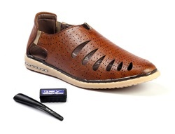 Brown Mens Sandals, Size: 6-10
