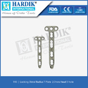 Locking Distal Radius T Plate 2.7mm (Head 3Hole)