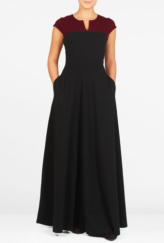 Plain Casual Ladies Maxi Dress
