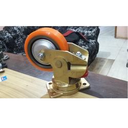 Spring Loaded Cast PU Wheel