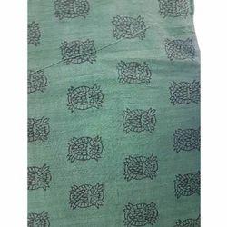 fd8c50d8 Cotton Khadi Block Printed Fabric, GSM: 50-100, Use: Garments