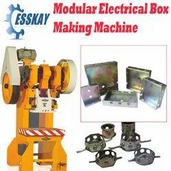 Modular Box Making Machine With Dies