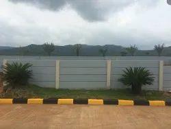 Exterior Precast Boundary Wall