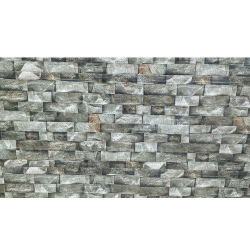 Kajaria Grey White Stone Cladding Tile Thickness 10 15 Mm Rs 140 Square Feet Id 18290375791