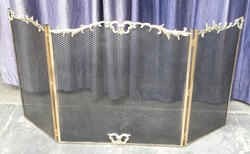 Brass Fire Screen
