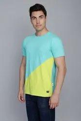 Spring Green Contrast T-Shirt