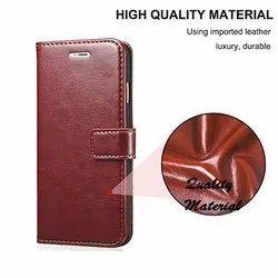 Leather brown Vintage flip cover