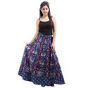 Sanganeri Wrap Around Skirt