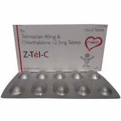 Telmisartan and Chlorthalidone Tablets