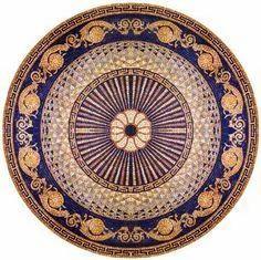 Multicolour Imported Rangoli Floor Tiles, 5-10 Mm