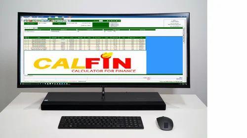 CALFIN GST Billing Software (Free 500 Voucher), Model: 2 5 | ID