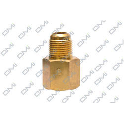 Flare Adapter for Refrigeration and Gas, Size: 3/16 inch