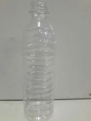 Transparent 500ml Water Bottle, Packaging Type: Plastic Cover