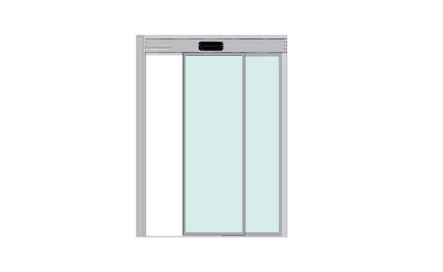 Automatic Sliding Door - Single Leaf - Max Up to 1 Mtr