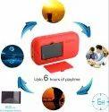 Portronics POR-143 Plugs Portable Speaker (Red)