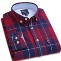 Mens Cotton Checked Casual Shirt