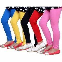 Cotton Plain Womens Leggings, Size: S, M & L