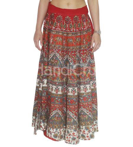 10f62110a556e9 Women's Skirts - Indian Traditional Women Printed Skirt Exporter ...
