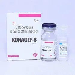 Cefoperazone & Sulbactam For Injection 1g