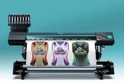 Automatic Sublimation Ink Sublimation Printing Machine, Size/Dimension: 5ft