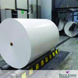 White Industrial Paper Roll