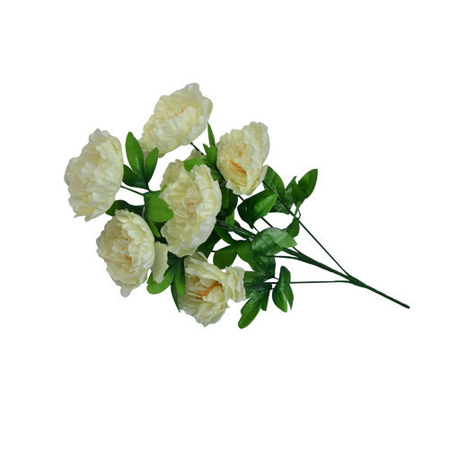 Off White Plastic Flower Bunch Rs 120 Piece Twice Flora Id