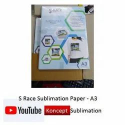 S Race Sublimation Paper A3