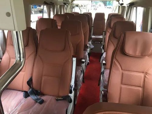 13 seater AC Tempo Traveller Bus On Hire Rent Mumbai To Kolhapur  in