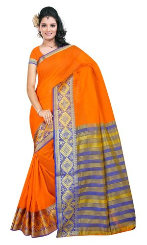 5991bd0515 Cotton Silk Saree, With Blouse, Rs 350 /piece, Vivera International ...