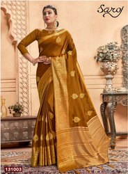Ethnic Wear Fancy Wedding Wear Silk Saree
