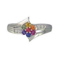 Multi Sapphire Diamond Rings