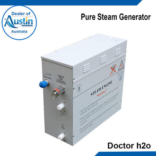 Austin Pure Steam Generator, Usage : Steaam Bath And Spa