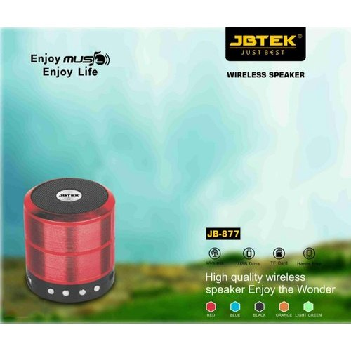 Bluetooth Black JB-877 JBTEK Wireless Speaker