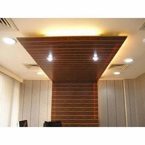 Waterproof PVC False Ceiling, Thickness: 0.55cm-1.2cm, Rs ...