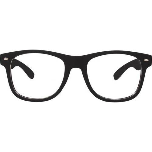 70619a8b77e Transparent Lens Black Frame Wayfarer Sunglasses