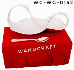 Wandcraft Exports Brass Gold and Silver Plated Bowl Set Marriage corporate gifts