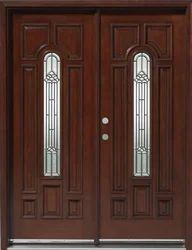 Brown Double Leaf Doors