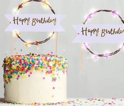 Remarkable Led Cake Topper At Rs 85 Piece Saraspur Ahmedabad Id 21746805230 Personalised Birthday Cards Petedlily Jamesorg