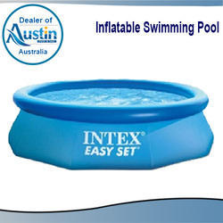 Blue Inflatable Swimming Pool, Application: Hotels/Resorts, Residential