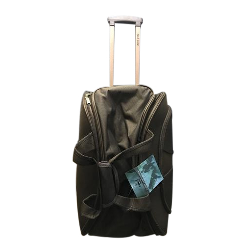 Polo Shine Two Tone Nylon Fabric Trolley Duffle Bags 6e03bc02c092c