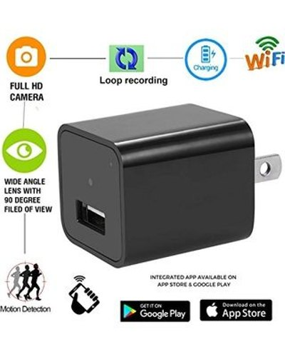 Wifi Power Charger Adaptor Camera