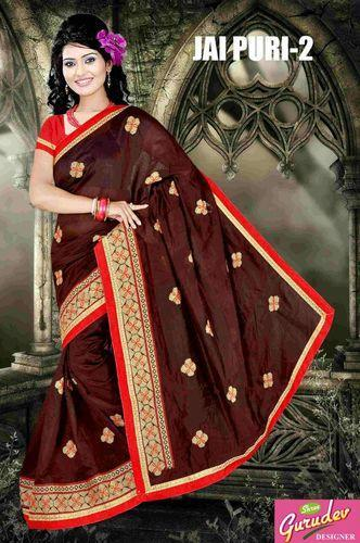 eb819844d Chanderi Cotton Casual Wear Cotton Saree