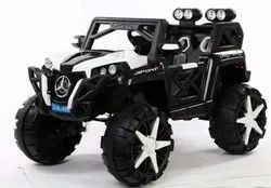Black White Mercedes Arko Sports Battery Jeep